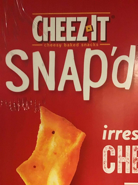 Cheez It Snap'd