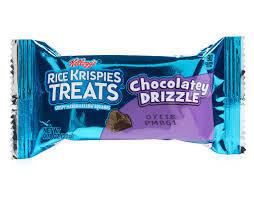 Chocolatey Drizzle  Rice Krispie Treats