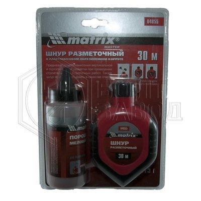 Шнур разметочный, порошок красный производитель MATRIX