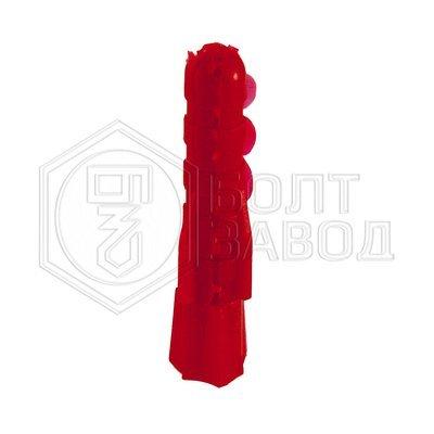 Дюбель полипропиленовый красный 6*35 100 штук