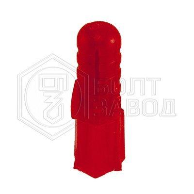 Дюбель полипропиленовый красный 8*30 100 штук