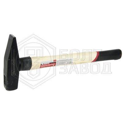 Молоток слесарный деревянная ручка вес бойка 400 гр