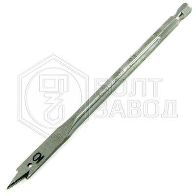 Сверло плоскофрезерное перьевое диаметр 10 мм