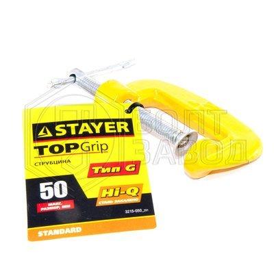 Струбцина тип G  50 мм производитель STAYER