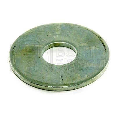 Шайба кузовная плоская увеличенный диаметр 16 100 штук