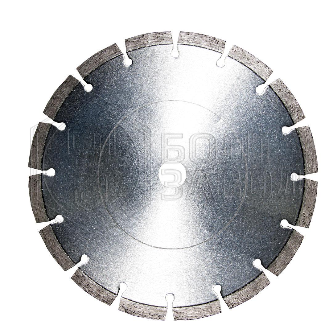 Диск алмазный отрезной сегментный, d180*22,2 мм