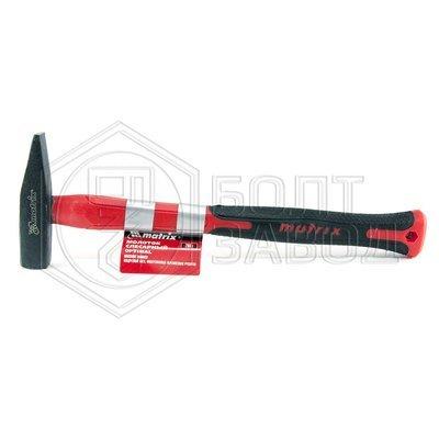 Молоток слесарный фиберглассовая и прорезированая ручка вес бойка 200 гр