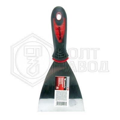 Шпатель лопатка нержавеющая сталь 100 мм 2 компонентная рукоятка фирмы MATRIX