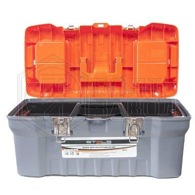 Ящик для инструментов с металлическими замками 20 22х26х51 фирмы Stels