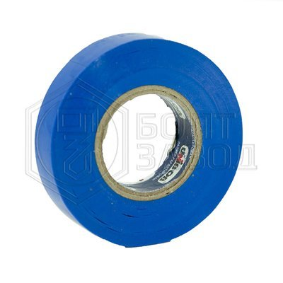 Электроизоляционная лента синяя UNIBOB 15 мм х 20 м, 130 мкм