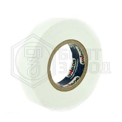 Электроизоляционная лента белая UNIBOB 15 мм х 20 м, 130 мкм