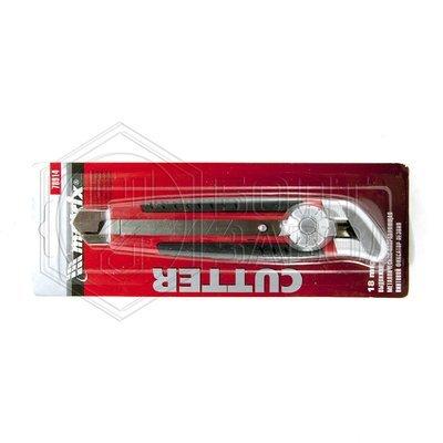 Нож выдвижной с винтовым фиксатором положения 18 мм фирмы MATRIX