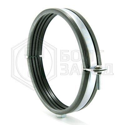 Хомут для труб с гайкой М10, 6 дюймов, диаметр 160-169 мм