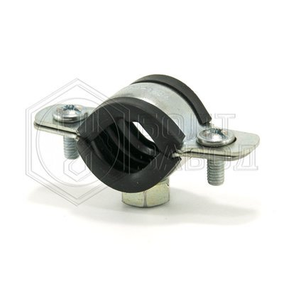 Хомут для труб с гайкой, 1/2 дюйма, диаметр 20-24 мм
