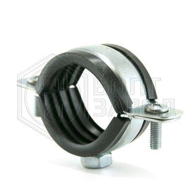 Хомут для труб с гайкой, 5/4 дюйма, диаметр 40-45 мм