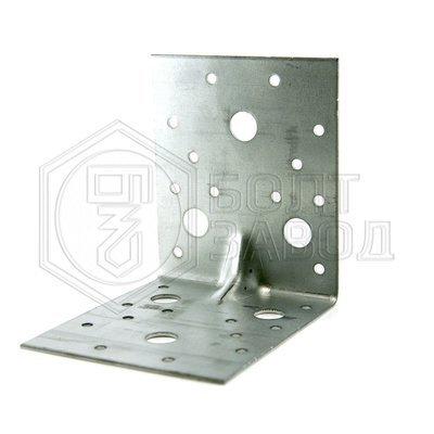 Уголок усиленный перфорированный 105 105 90 толщиной 2 мм