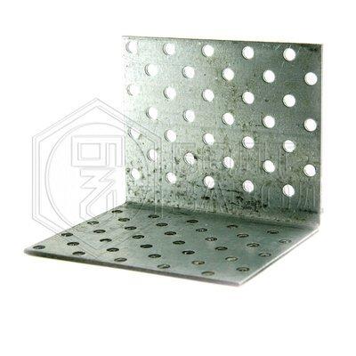 Уголок перфорированный 80 80 100 толщиной 2 мм
