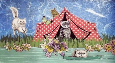 Cat Camp 5 x 7