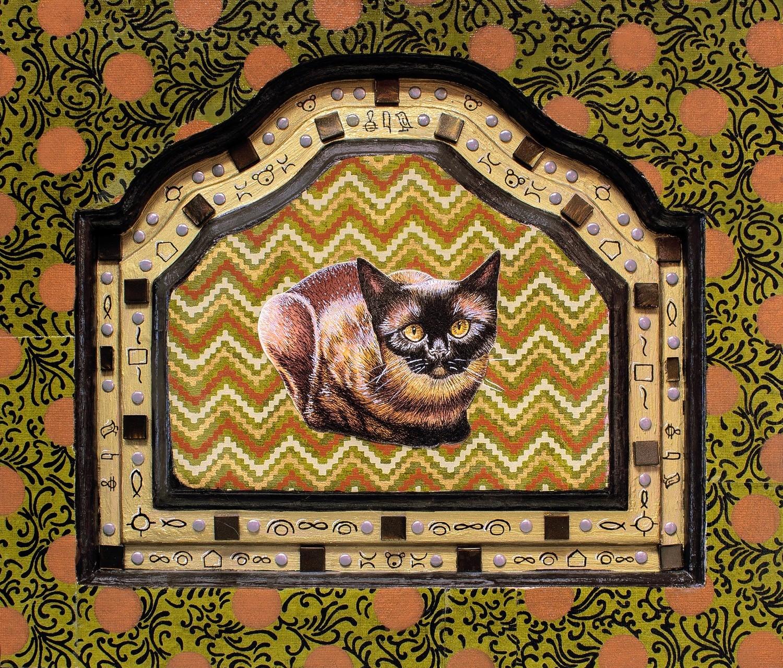 Cat Worship 5 x 7