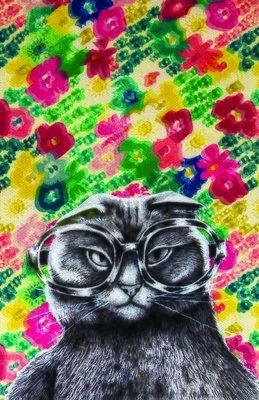 Far sighted Kitty, Greeting cards