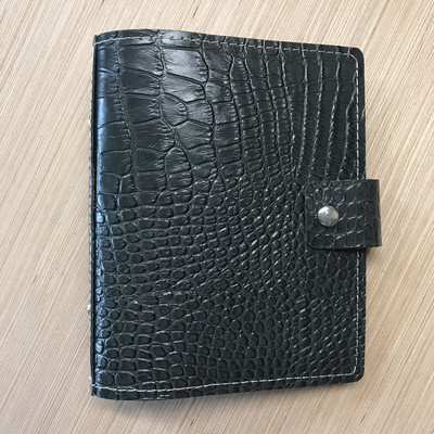 Charcoal Croco Notebook