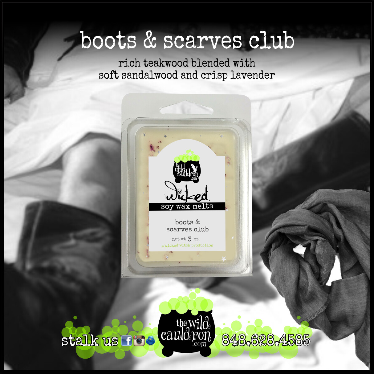 Boots & Scarves Club Wicked Wax Melts