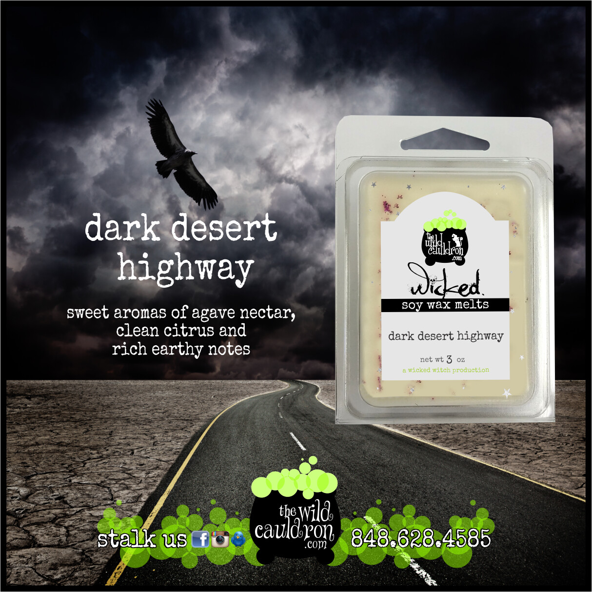 Dark Desert Highway Wax Melts