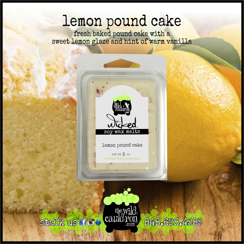 Lemon Pound Cake Wicked Wax Melts