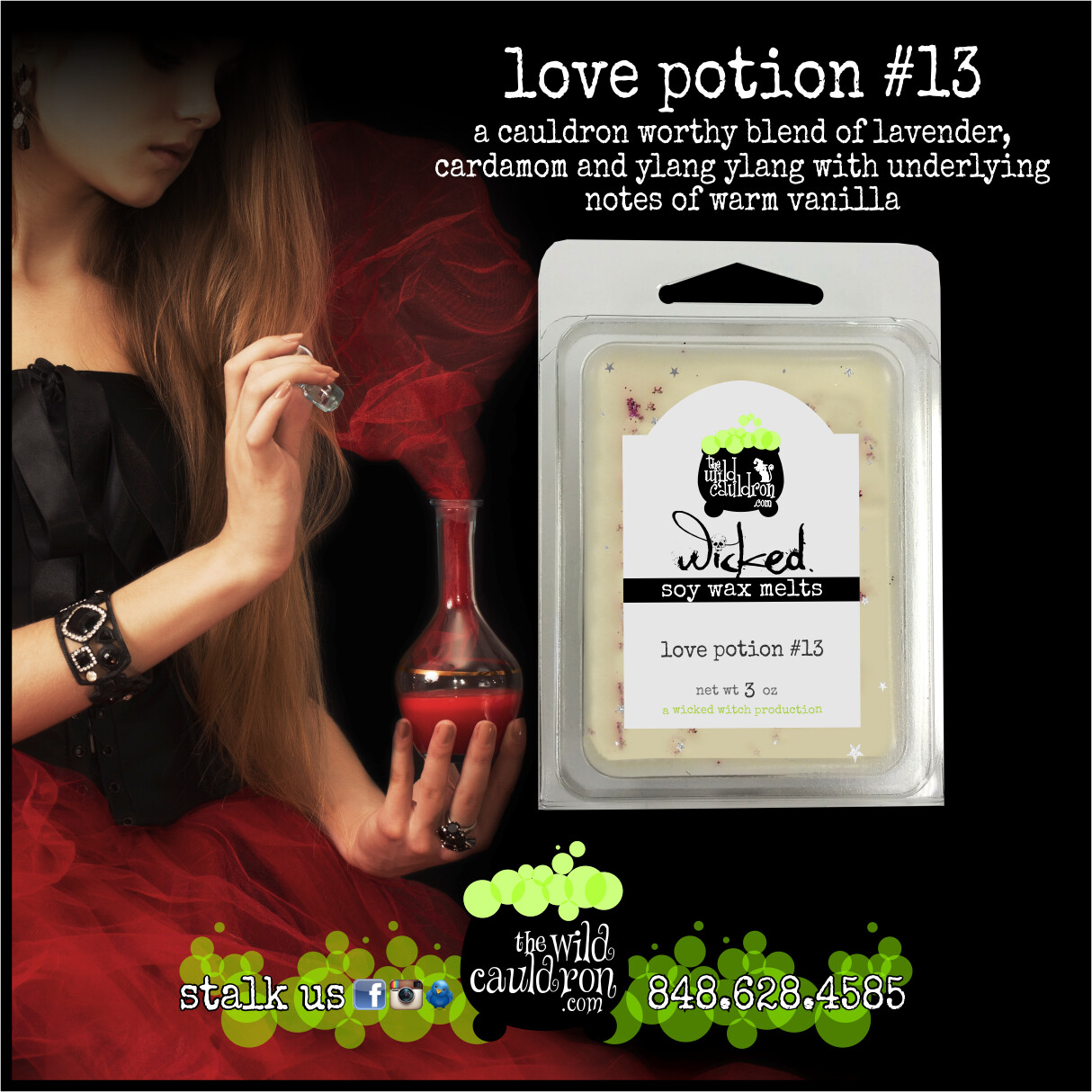 Love Potion #13 Wicked Wax Melts