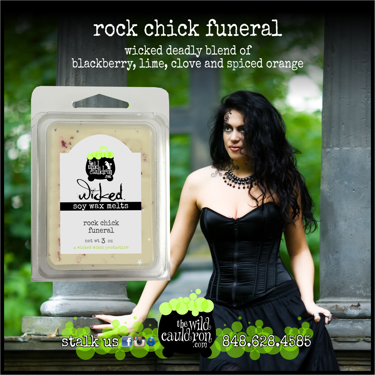 Rock Chick Funeral Wicked Wax Melts