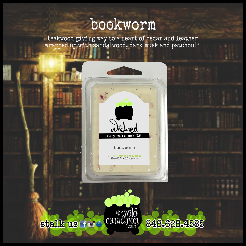 Bookworm Wicked Wax Melts