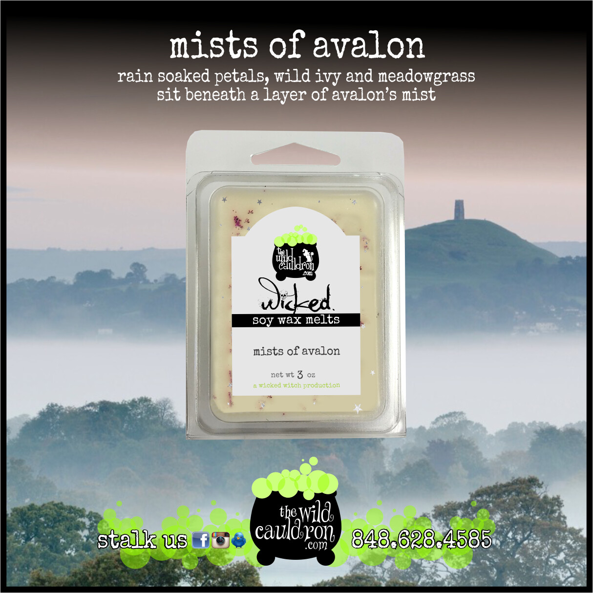 Mists of Avalon Wicked Wax Melts