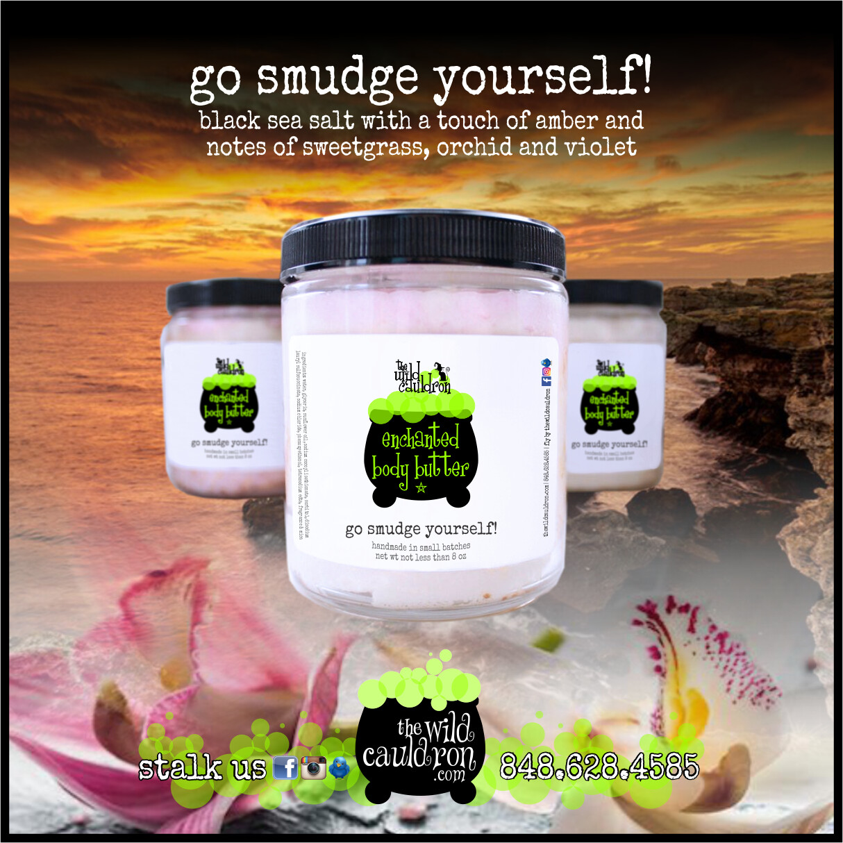 Go Smudge Yourself! Enchanted Body Butter (8 oz)