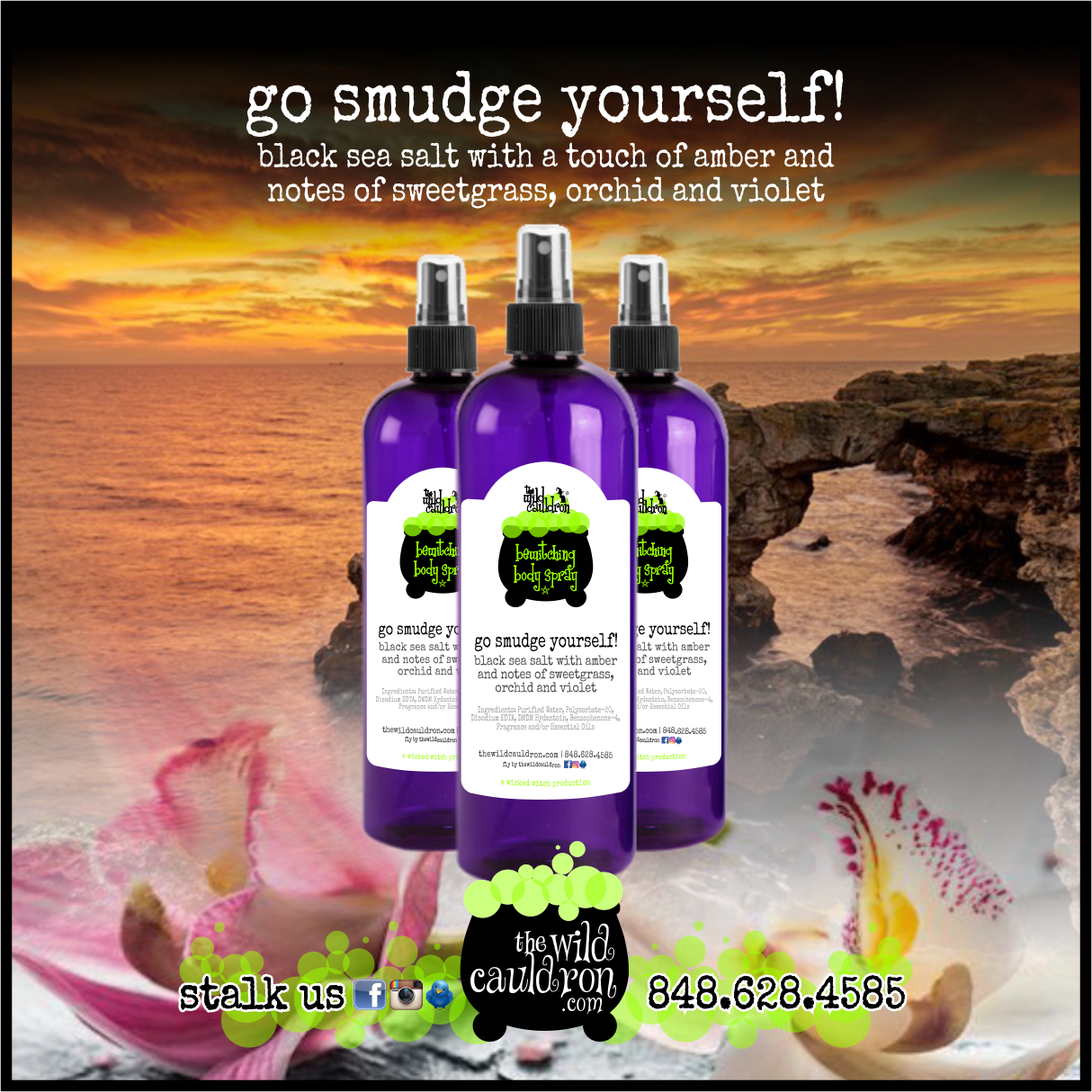 Go Smudge Yourself! Bewitching Body Spray (8 oz)