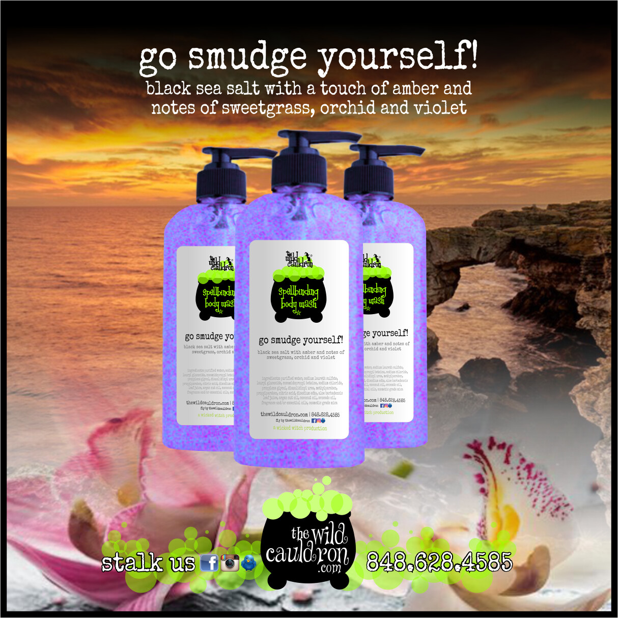 Go Smudge Yourself! Spellbinding Body Wash (8 oz)