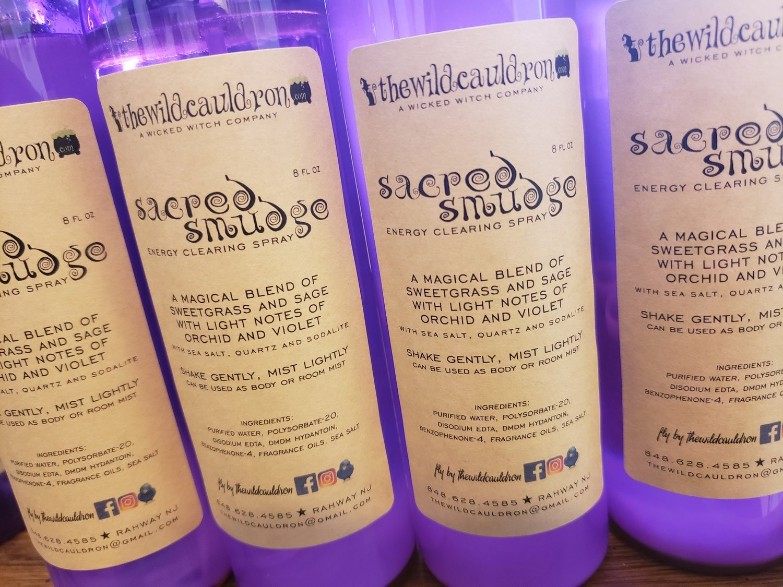 Sacred Smudge Spray - Sage and Sweetgrass