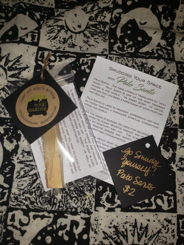 Go Smudge Yourself! Palo Santo Sticks