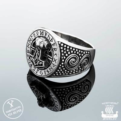 NORTHERN VIKING JEWELLERY -Riimu Thorin Vasara -sormus