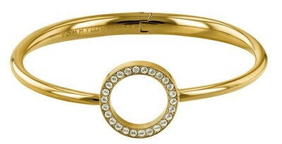 TOMMY HILFIGER Open Circle Bangle GP -rannekoru