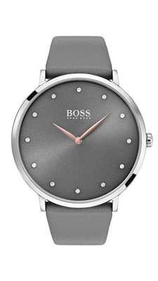 HUGO BOSS Jillian Watch Grey -naisten rannekello