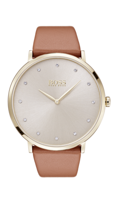 HUGO BOSS Jillian Watch Brown -naisten rannekello