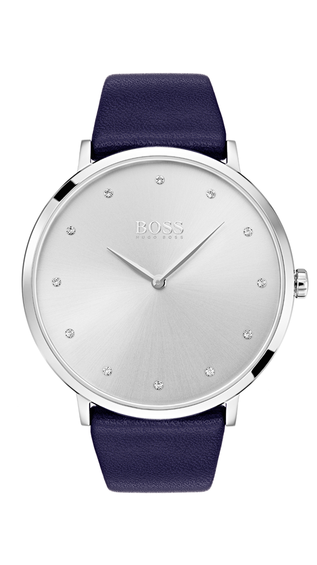 HUGO BOSS Jillian White Dial Watch -naisten rannekello 1502410