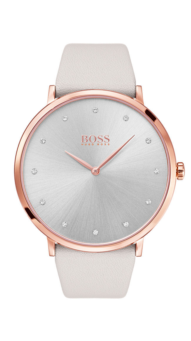 HUGO BOSS Jillian Grey Dial Watch -naisten rannekello 1502412