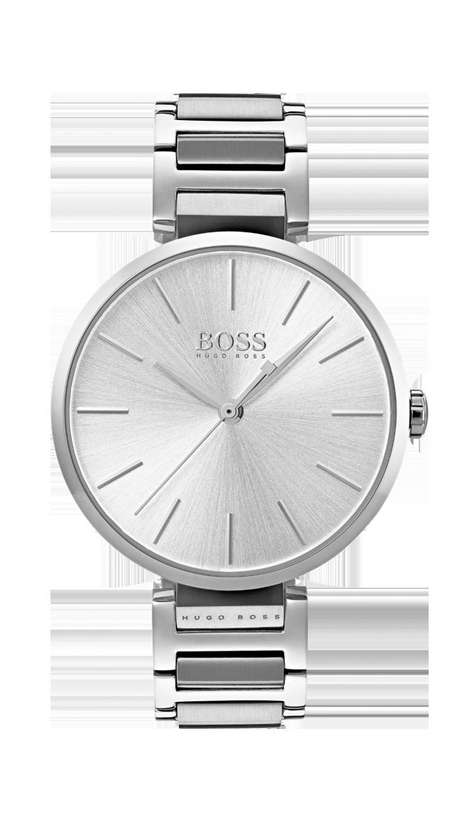 HUGO BOSS Allusion silver -naisten rannekello 1502414