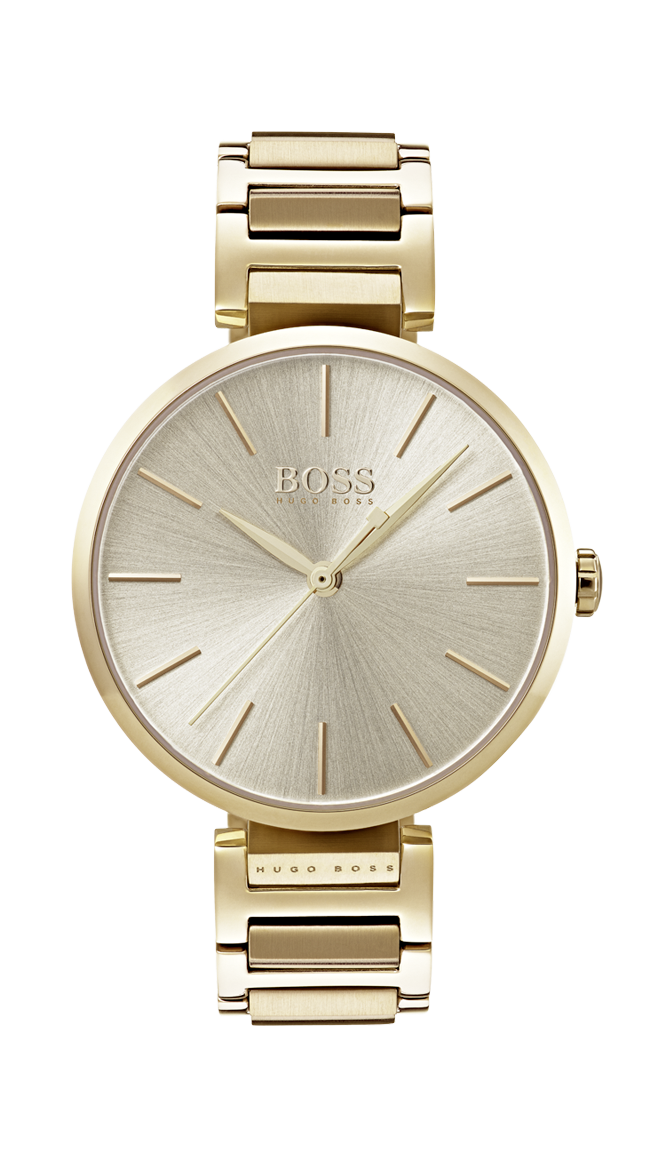 HUGO BOSS Allusion gold -naisten rannekello 1502415