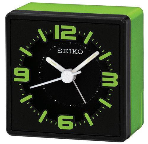 SEIKO herätyskello musta/vihreä QHE091M