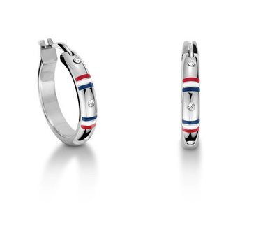 TOMMY HILFIGER Hoop Earrings SS