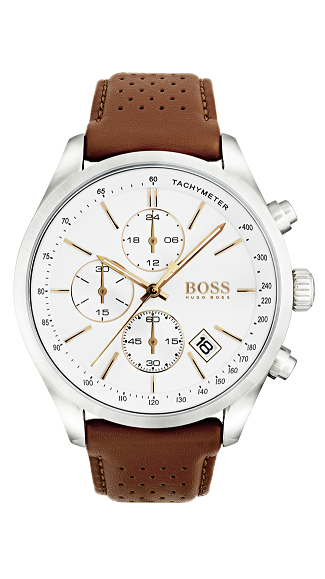 HUGO BOSS Grand Prix -miesten rannekello 1513475