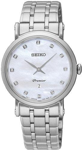 SEIKO Elite Premier -naisten rannekello SXB433P1