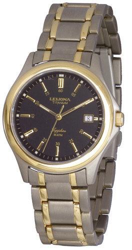 LEIJONA Titanium -miesten rannekello 5088-621